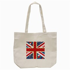 England By Divad Brown   Tote Bag (cream)   K69ypc5panor   Www Artscow Com Front