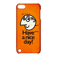 Have A Nice Day Happy Character Apple Ipod Touch 5 Hardshell Case With Stand by CreaturesStore