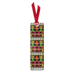 Aztec Style Pattern Small Bookmark by dflcprints