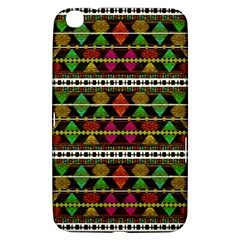 Aztec Style Pattern Samsung Galaxy Tab 3 (8 ) T3100 Hardshell Case  by dflcprints