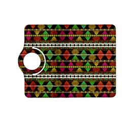 Aztec Style Pattern Kindle Fire Hd 7  (2nd Gen) Flip 360 Case by dflcprints