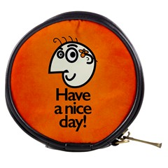 Have A Nice Day Happy Character Mini Makeup Case by CreaturesStore