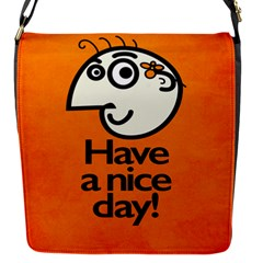 Have A Nice Day Happy Character Removable Flap Cover (small) by CreaturesStore