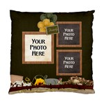 Pillow-Family 2 - Standard Cushion Case (One Side)