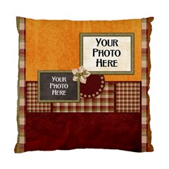 2 Sided Gingerbread Men Pillow By Lisa Minor   Standard Cushion Case (two Sides)   P5s08hqdfdhs   Www Artscow Com Front