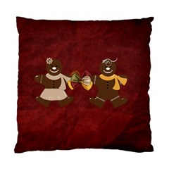 2 Sided Gingerbread Men Pillow By Lisa Minor   Standard Cushion Case (two Sides)   P5s08hqdfdhs   Www Artscow Com Back