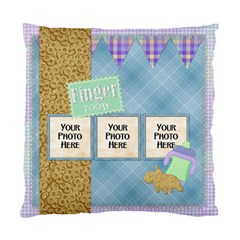 2 Sided Finger Foods Pillow By Lisa Minor   Standard Cushion Case (two Sides)   R48fomu7cs5l   Www Artscow Com Front