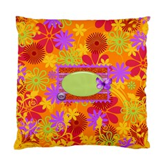 2 Sided Floral Pillowcase By Lisa Minor   Standard Cushion Case (two Sides)   Gl02udrty84n   Www Artscow Com Back