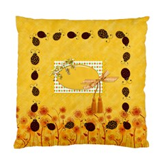 2 Sided Ladybug Pillow By Lisa Minor   Standard Cushion Case (two Sides)   X0w8oxm7dgs0   Www Artscow Com Back