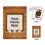 iced cookie cards - Playing Cards Single Design