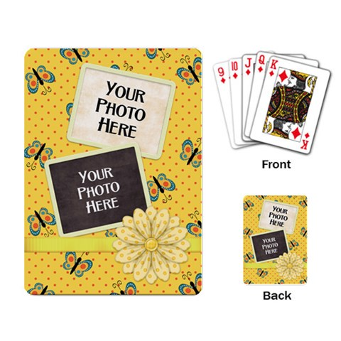 Playing Cards Fanciful Fun 2 By Lisa Minor   Playing Cards Single Design   Tr7v9qads1yz   Www Artscow Com Back