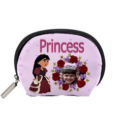 Princess Accessories Bag Small By Kim Blair   Accessory Pouch (small)   Rt3ka10tzcj6   Www Artscow Com Front