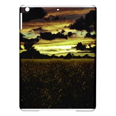 Dark Meadow Landscape  Apple Ipad Air Hardshell Case by dflcprints