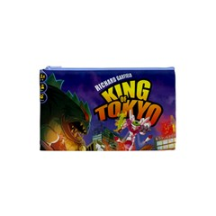 King Of Tokyo Bag (very Little) By Kont Enedor   Cosmetic Bag (small)   Pkmws7qetujz   Www Artscow Com Front