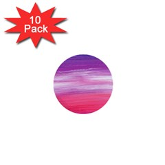 Abstract In Pink & Purple 1  Mini Button (10 Pack) by StuffOrSomething