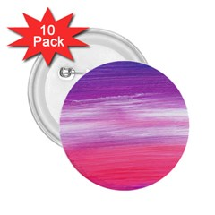 Abstract In Pink & Purple 2 25  Button (10 Pack) by StuffOrSomething