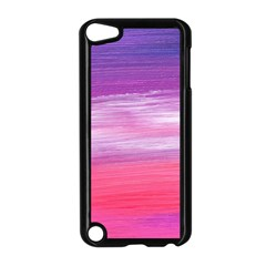 Abstract In Pink & Purple Apple iPod Touch 5 Case (Black) by StuffOrSomething