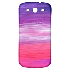 Abstract In Pink & Purple Samsung Galaxy S3 S Iii Classic Hardshell Back Case by StuffOrSomething