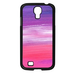Abstract In Pink & Purple Samsung Galaxy S4 I9500/ I9505 Case (black) by StuffOrSomething