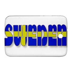 Flag Spells Sweden Samsung Galaxy Note 8 0 N5100 Hardshell Case  by StuffOrSomething