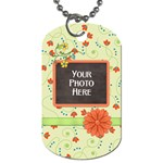 Dog Tag-Fanciful Fun 3 - Dog Tag (One Side)