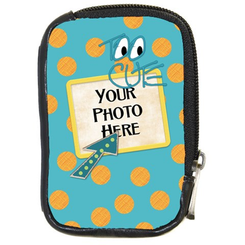 Camera Case Fanciful Fun 3 By Lisa Minor   Compact Camera Leather Case   E85a4un3kevu   Www Artscow Com Front