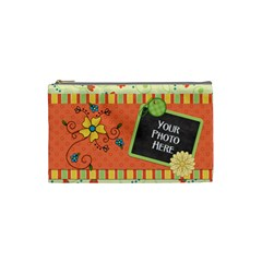 Cosmetic Bag Small Fanciful Fun 2 By Lisa Minor   Cosmetic Bag (small)   8z2nta5mdpl0   Www Artscow Com Front