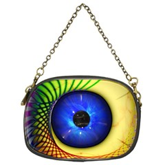 Eerie Psychedelic Eye Chain Purse (one Side) by StuffOrSomething