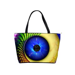 Eerie Psychedelic Eye Large Shoulder Bag by StuffOrSomething