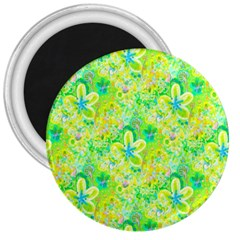 Summer Fun 3  Button Magnet by rokinronda