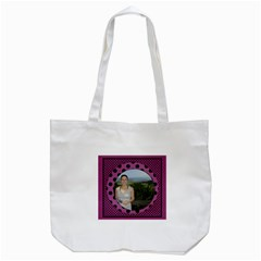 Our Spotty Tote Bag By Deborah   Tote Bag (white)   Rns4itrt29sf   Www Artscow Com Back