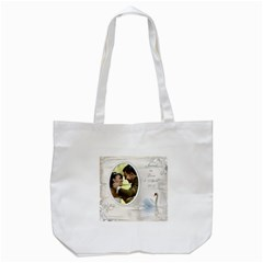 Our Love Day Tote Bag By Deborah   Tote Bag (white)   Po8rodc9h7rr   Www Artscow Com Front