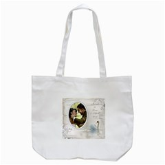 Our Love Day Tote Bag By Deborah   Tote Bag (white)   Po8rodc9h7rr   Www Artscow Com Back