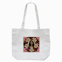 Roses And Lace 2 Tote Bag By Deborah   Tote Bag (white)   Eonup29e6xsk   Www Artscow Com Back