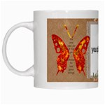 use your wings mug - White Mug