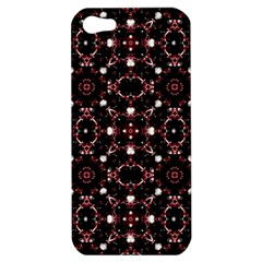 Futuristic Dark Pattern Apple Iphone 5 Hardshell Case by dflcprints
