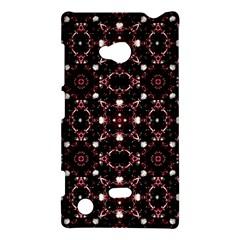 Futuristic Dark Pattern Nokia Lumia 720 Hardshell Case by dflcprints