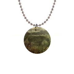Flora And Fauna Dreamy Collage Button Necklace by dflcprints