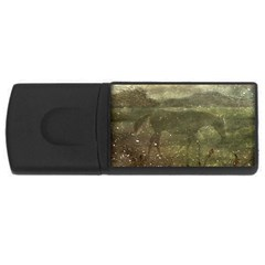 Flora And Fauna Dreamy Collage 4GB USB Flash Drive (Rectangle) by dflcprints
