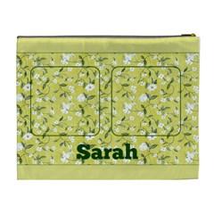 Lemon Cosmetic Bag (xl) By Deborah   Cosmetic Bag (xl)   T3esk2mxxatn   Www Artscow Com Back