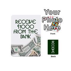 Go For Broke   Receive By Caleb Goerzen   Playing Cards 54 (mini)   Mzn5ecpnjwvs   Www Artscow Com Front - Spade6