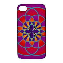 Mandala Apple Iphone 4/4s Hardshell Case With Stand by SaraThePixelPixie