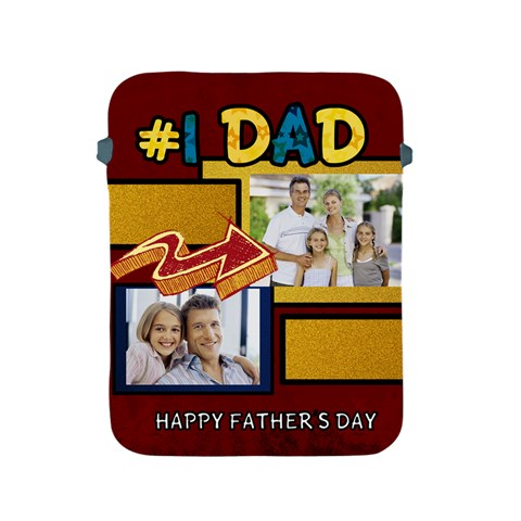 Fathers Day By Dad   Apple Ipad 2/3/4 Protective Soft Case   Giz52j30b2fw   Www Artscow Com Front