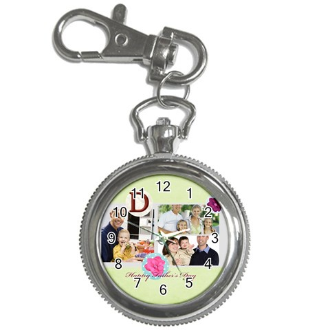 Fathers Day By Dad   Key Chain Watch   64fxmvjdo955   Www Artscow Com Front