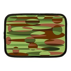 Green And Brown Spheres By Khoncepts Com Netbook Case (medium) by Khoncepts