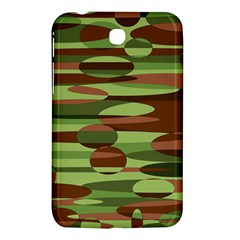 Green and Brown Spheres by Khoncepts.com Samsung Galaxy Tab 3 (7 ) P3200 Hardshell Case
