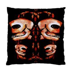 Skull Motif Ornament Cushion Case (two Sided)