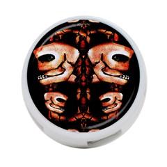 Skull Motif Ornament 4 Port Usb Hub (two Sides) by dflcprints