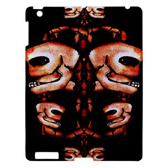 Skull Motif Ornament Apple Ipad 3/4 Hardshell Case by dflcprints