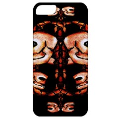 Skull Motif Ornament Apple Iphone 5 Classic Hardshell Case by dflcprints